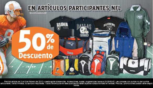 Soriana: 50% de descuento en artículos de la NFL, 20% en pantallas Samsung y más