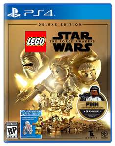 Black Friday 2016 Amazon: Lego Star Wars Force Awakens Deluxe Edition PS4