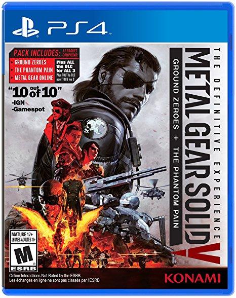 Black Friday Amazon MEX-EUA: Metal Gear Solid V Definitive PS4