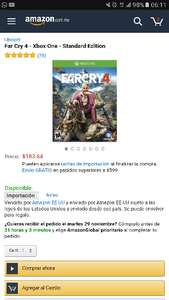 Black Friday 2016 Amazon: Far Cry 4 a $183