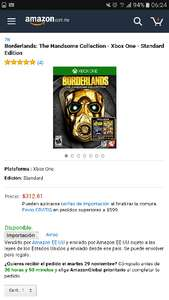 Black Friday Amazon 2016: Borderlands: The Handsome Collection - Xbox One - Standard Edition