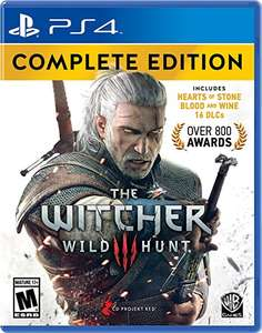 Black Friday 2016 Amazon MEX-EUA: Witcher 3: Wild Hunt Complete Edition - PlayStation 4