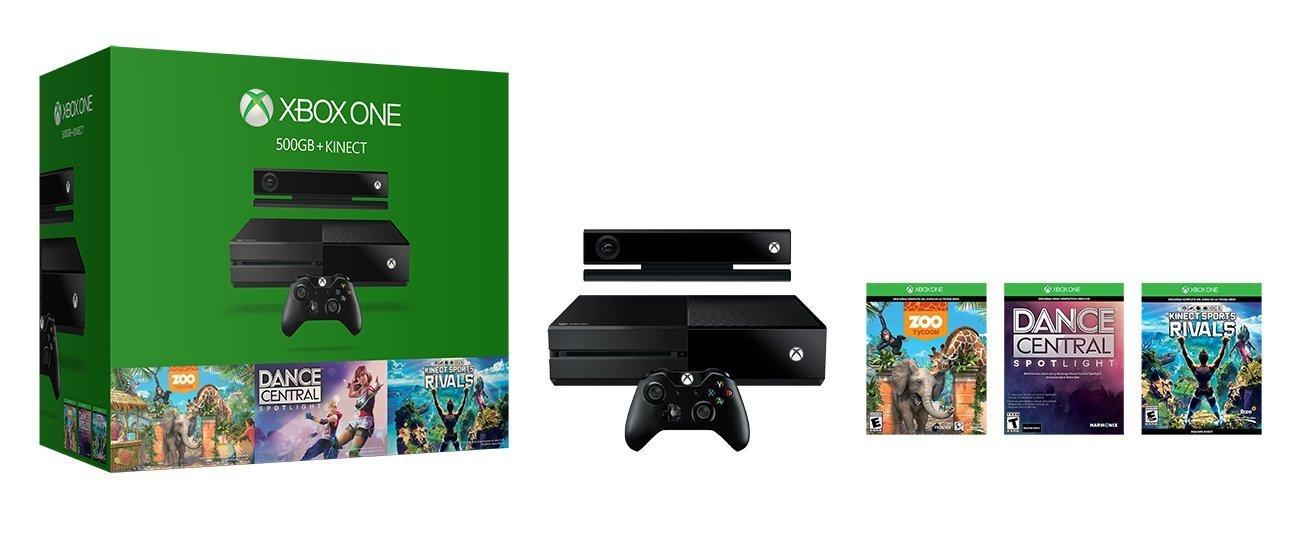 Black Friday 2016 Amazon: Xbox one + Kinect + 3 Juegos (vendido y enviado por un tercero)
