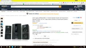 Black Friday 2016 Amazon: Bocinas Arion Legacy AR504LR-BK 2.1 70 Watts a $679, 100Watts a $799