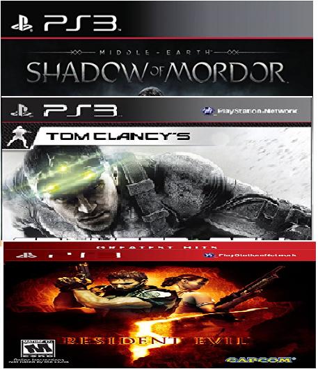 Black Friday en Amazon: Varios juegos de PS3