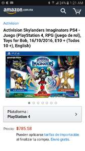 Black Friday en Amazon MX: Skylanders Imaginators PS4 y otras consolas
