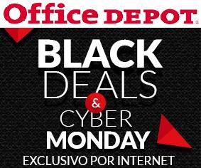 Office Depot: Ofertas de Black Deals & Cyber Monday: Descuentos en Apple, 3x2 en consumibles y más