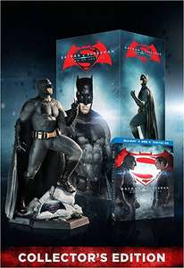 Blak Friday Amazon: Batman Vs Superman: El Origen de la Justicia (BD+BDExt+DVD+Copia Digital) + Batman Figurine $999