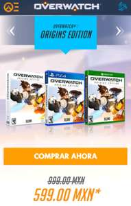 Black Friday 2016 Overwatch: Juego digital PC/Xbox One/PS4