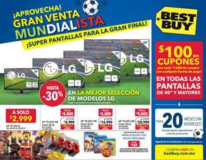 Folleto de ofertas Best Buy del 19 al 25 de junio