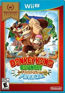 Amazon: Donkey Kong Tropical Freeze para Wii U