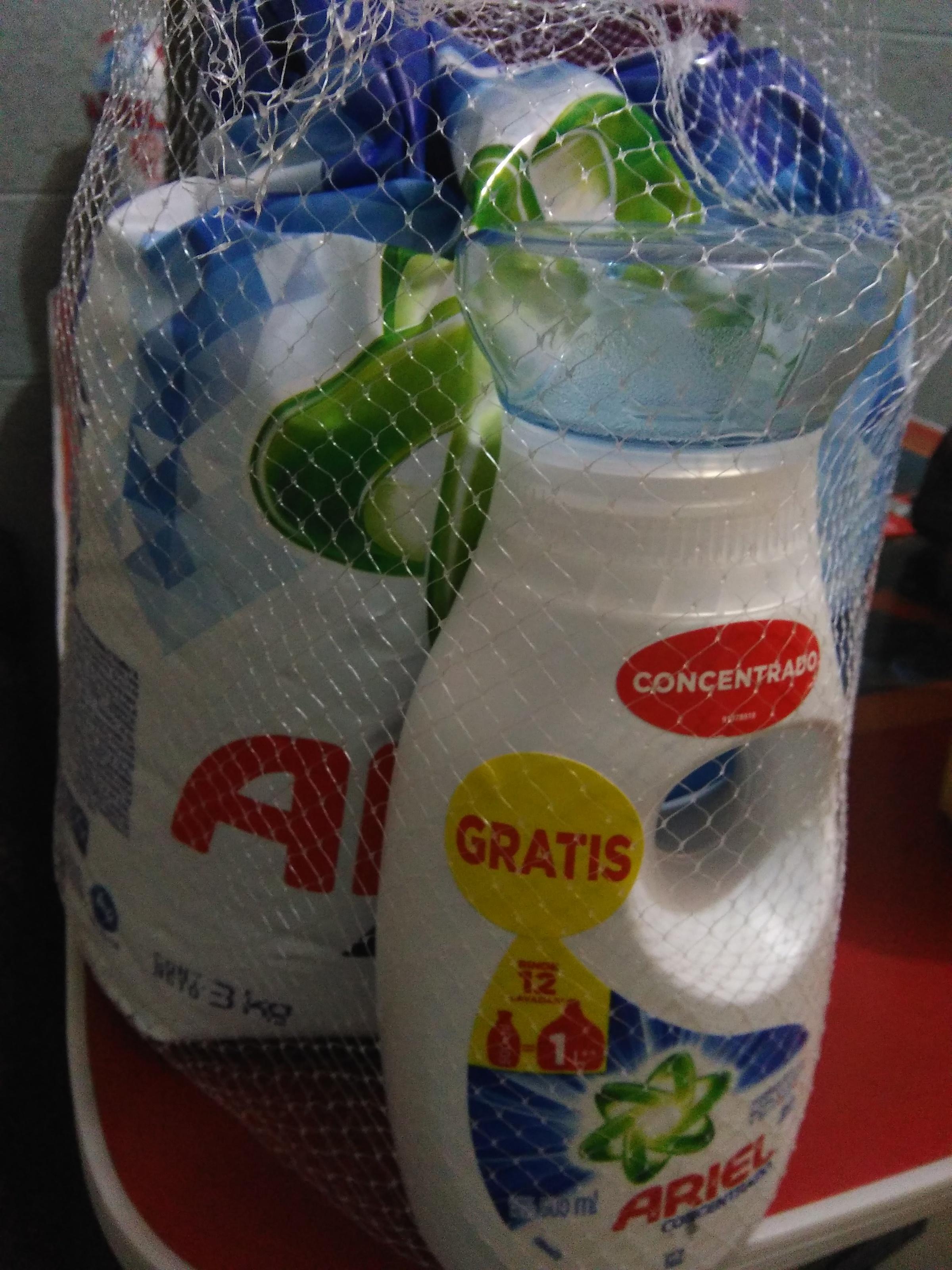 Walmart: paquete de etergente Ariel 3kg + 500 ml Ariel líquido y más