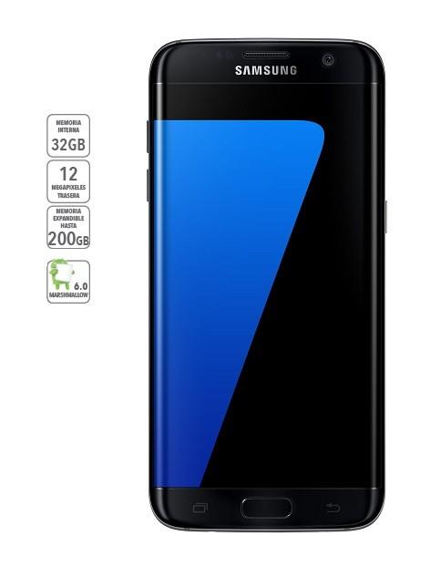 Best buy: Samsung Galaxy S7 Edge Negro Telcel 32Gb + Descuento del 30% + Viaje gratis