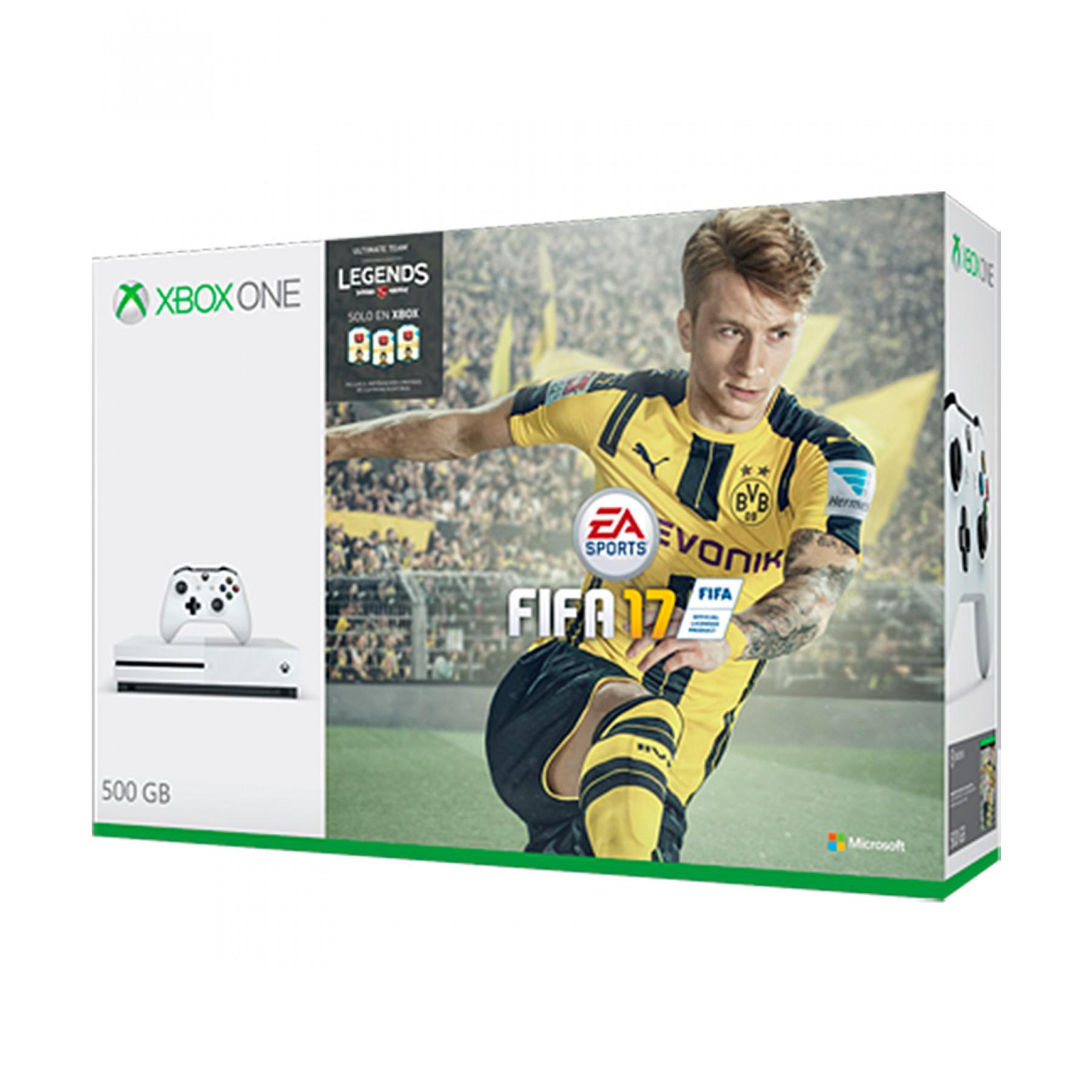 Palacio de Hierro: Preventa consola Xbox One S 500gb FIFA 17