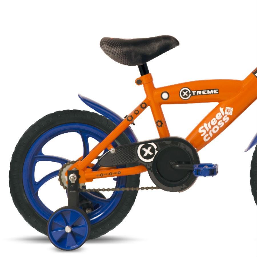 Woolworth: Bicicleta Rodada 14 Xtreme Naranja