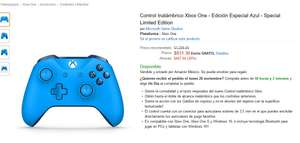 Amazon Black Friday Control xbox one edicion azul  $831.36