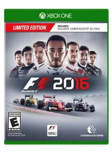 Black Friday 2016 Amazon MX: Formula 1 2016 para Xbox One y PS4