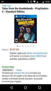 Black Friday 2016 Amazon: Tales from the Borderlands - PlayStation 4 - Standard Edition