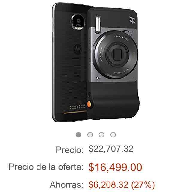 Black Friday en Amazon: Moto Z con Moto Mods + Mod Camara
