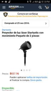 Black Friday en Amazon: Luces Startastic pack 2 con movimiento