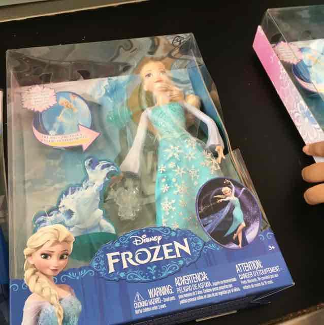 Comercial Mexicana: muñeca Elsa de Frozen