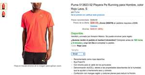 Amazon: Playera Puma PE_Running Hombre