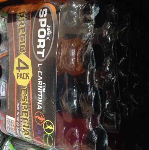 Walmart plateros: Jumex sport 4 Pack a $28.02