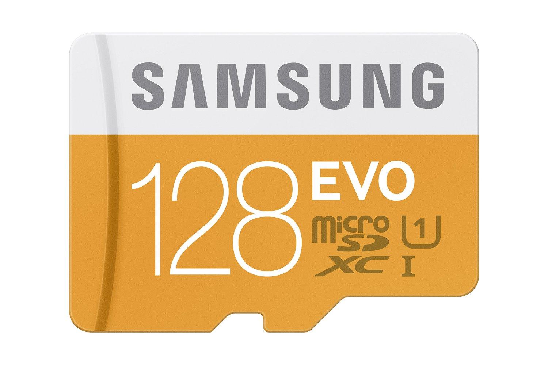 Amazon: Samsung Micro SDXC 128GB, EVO Class 10 a $519