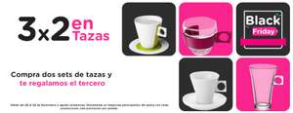 Nescafé Dolce Gusto tiene 3 x 2 en tazas