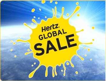 Oferta global Hertz: hasta 33% de descuento en rentas de autos