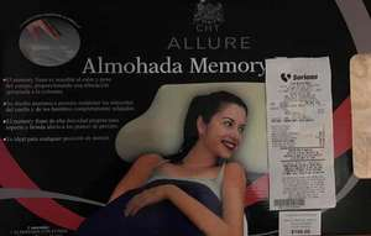 Soriana: Almohada memory foam a $139