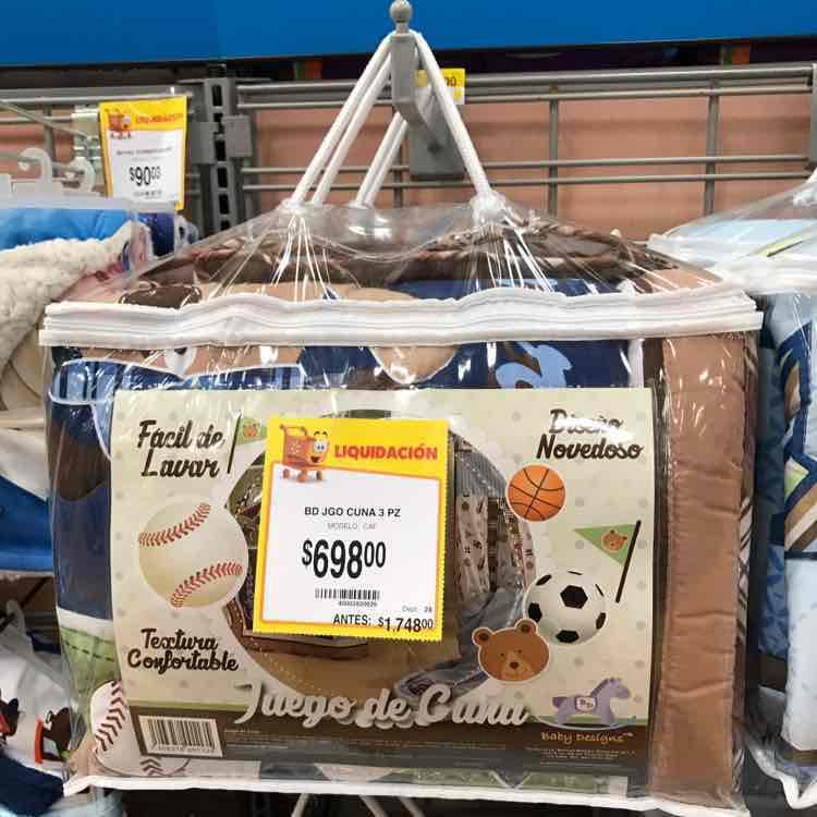 Walmart Guadalajara: juego de cuna de $1,748 a $698