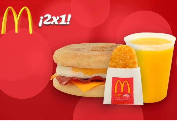 McDonald's: 2x1 en McTríos de desayunos con Banamex