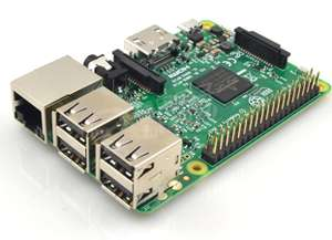 Amazon: Raspberry Pi 3 (vendido y enviado por un tercero desde China)