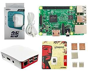 Amazon: Kit completo para Raspberry Pi 3 (vendido y enviado por un tercero desde China)