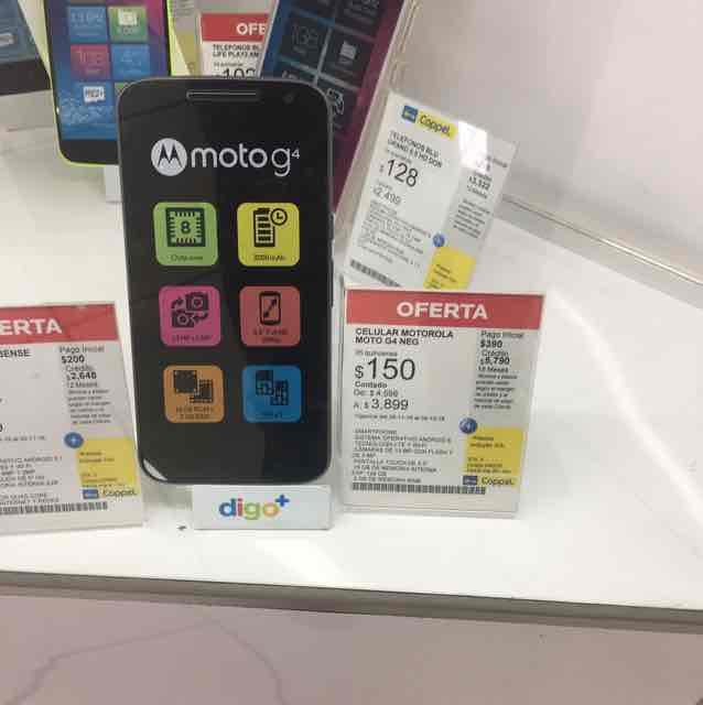 Coppel: Moto G4 Dual-Sim