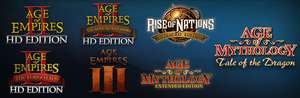 Steam: colección Age of Empires y Age of mythology