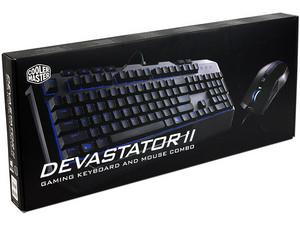 PCEL: Combo Teclado y Mouse Devastor II USB -50%