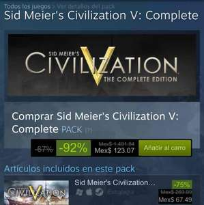 Steam: Civilization V Complete Bundle