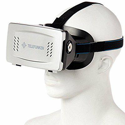 Cyber Monday 2016 Amazon: Telefunken Lentes Realidad Virtual con Boton Magnetico para smartphones