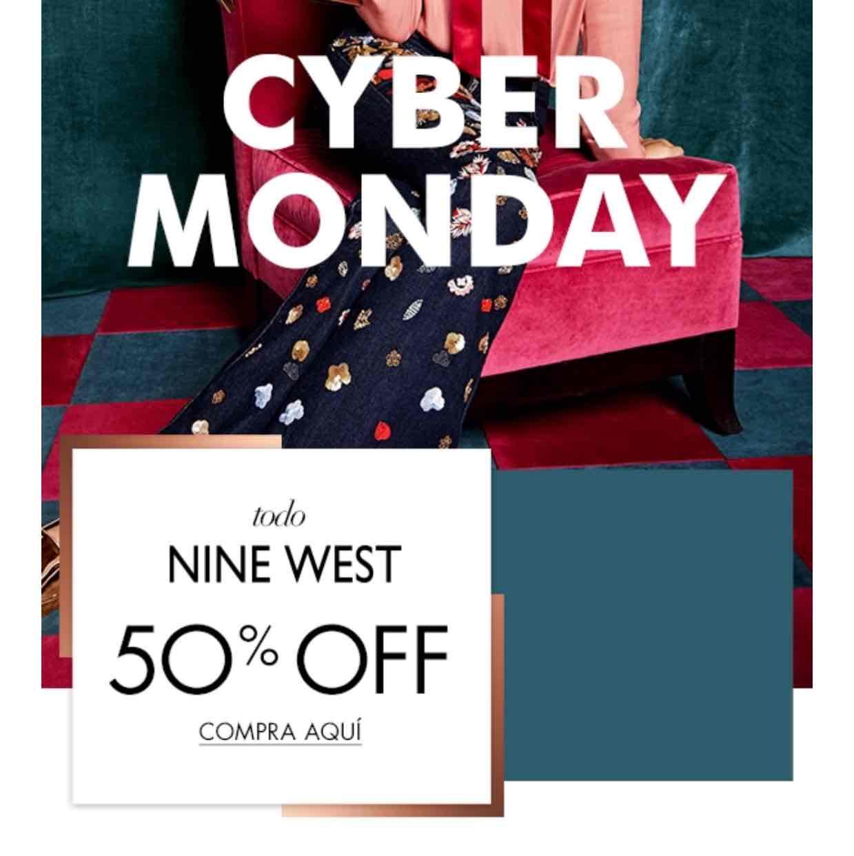 Cyber Monday 2016 Nine West: descuento de 50% en Nine West  y 30% en Westies