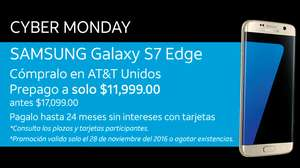Cyber Monday 2016 AT&T: Samsung Galaxy S7 Edge