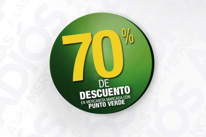 Liverpool: 70% de descuento en mercancía con punto verde y 6 MSI