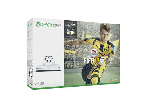 Tienda Microsoft en Mercado Libre: Xbox One S 500GB bundles FIFA 17 y GOW.
