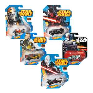 Walmart: paquete de 5 Hot Wheels Star Wars a $199