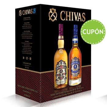 Costco: Chivas Regal whisky 12 años y 18 años 750ml con cupón