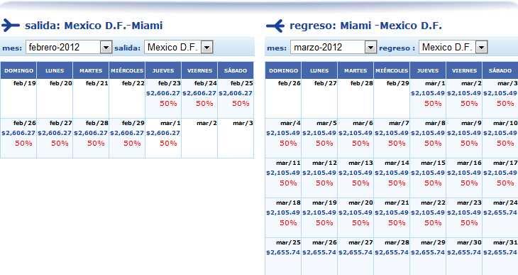 Interjet: nueva ruta DF-Miami 349 USD redondo