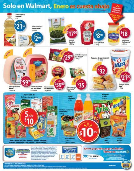 Walmart: martes de frescura especial en DF y centro del país