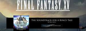 GAMESTOP: Final Fantasy XV: A King's Tale Original Digital Soundtrack - GRATIS