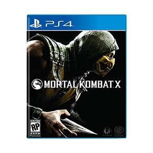 Amazon: Mortal Kombat X Estándar Edition PS4